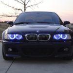 angel eyes bmw e46 blue