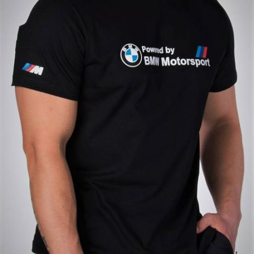 t-shirt powered by bmw motosport 1