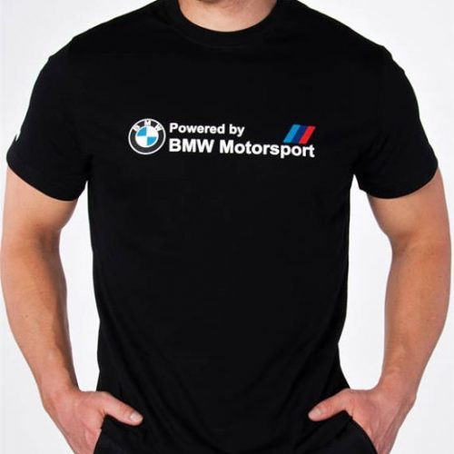 t-shirt powered by bmw motosport 2