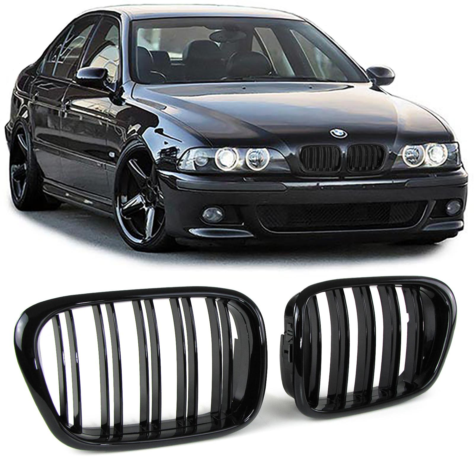 Kαρδίες μαύρες BMW E39 Look M4