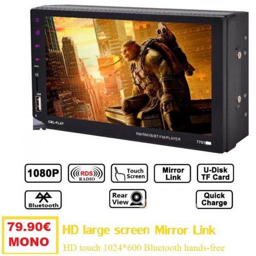 Dvd 2Din MP5 Touchscreen TFT 7