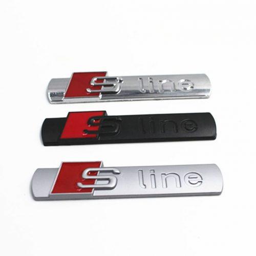S-Line Αυτοκόλλητο μεταλλικό ανάγλυφο