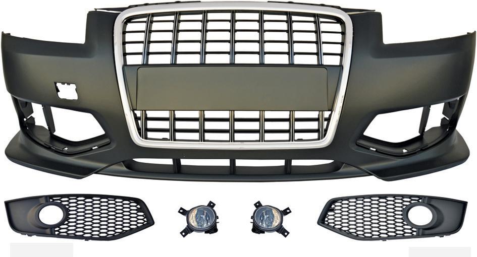 Προφυλακτήρας Εμπρός Audi A3 Look S3 03-08