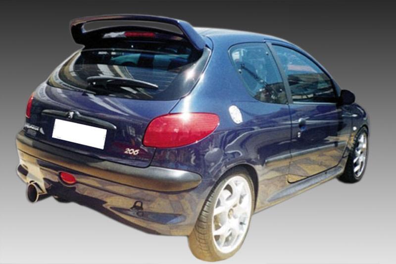 Peugeot 206 Αεροτομή Οροφής Look WRC A202