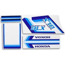 Αυτοκόλλητα Honda GLX Σετ Μπλέ