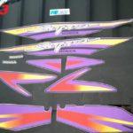 Σετ αυτοκόλλητων για Honda Supra No3