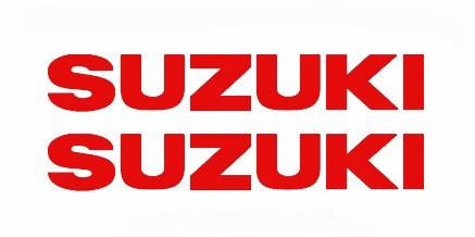 Aυτοκόλλητα Suzuki 9 x 1,5 εκ. Διάφορα Χρώματα 2