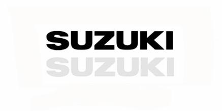 Aυτοκόλλητα Suzuki 9 x 1,5 εκ. Διάφορα Χρώματα