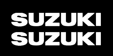 Aυτοκόλλητα Suzuki 9 x 1,5 εκ. Διάφορα Χρώματα3