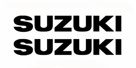 Aυτοκόλλητα Suzuki 9 x 1,5 εκ. Διάφορα Χρώματα5