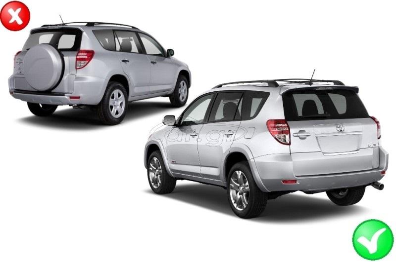 Σκαλοπάτια Toyota RAV4 (XA30) (2009-2012) OEM Design 2