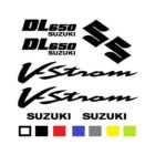 Suzuki V-Strom 650 Αυτοκόλλητα Σετ Σε Διάφορα Χρώματα