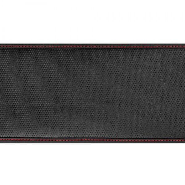 Κάλυμμα Τιμονιού Skin-Cover 3537CM (S) Μαύρο κοκκινη ραφη