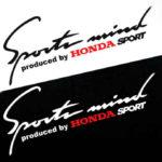 Αυτοκόλλητο Sport Mind Honda
