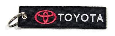 Υφασμάτινο Μπρελόκ Toyota