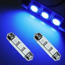 Λάμπες Μπλέ 3 LED 36mm 12V – 13329