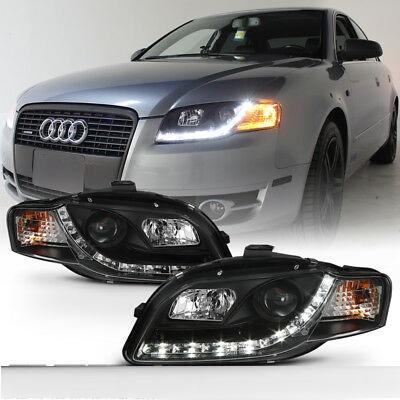 Φανάρια Μπροστά Audi A4 B7 Daytime running light black
