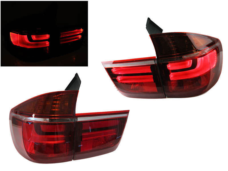 Φανάρια Πίσω Bmw X5 E70 (07-10) LOOK LCI LED BAR