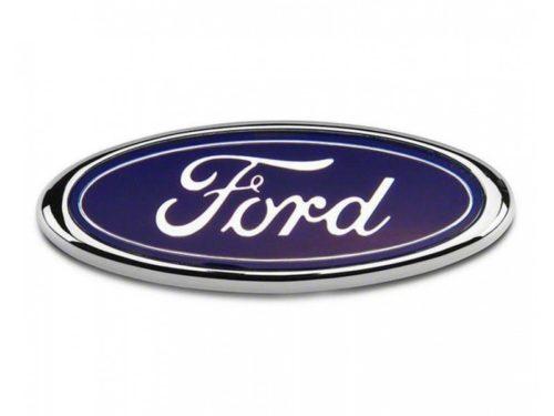 Ford Αυτοκόλλητο Σήμα 150mm x 60mm ΜπλέΧρώμιο