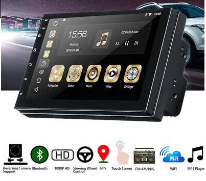 Οθόνη Multimedia 2 DIN 7″ Player 1080p WiFi GPS Android Mirror Link Κωδ.600400