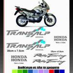 Σετ Αυτοκολλητα Honda Transalp Κωδ.SM 102