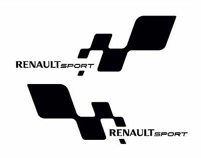 Renault Sport Αυτοκόλλητα σετ 2τεμ
