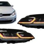 ΦΑΝΑΡΙΑ ΕΜΠΡΟΣ VW GOLF 6 (08-12) LOOK 7.5 DYNAMIC LED