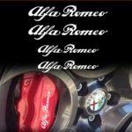 Σετ 4τεμ αυτοκόλλητα για ζαντες Alfa Romeo