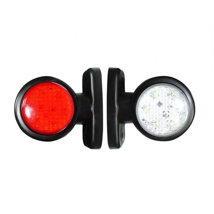 Σέτ LED Όγκου Κερατάκια 24V IP66 Κόκκινό Λευκό