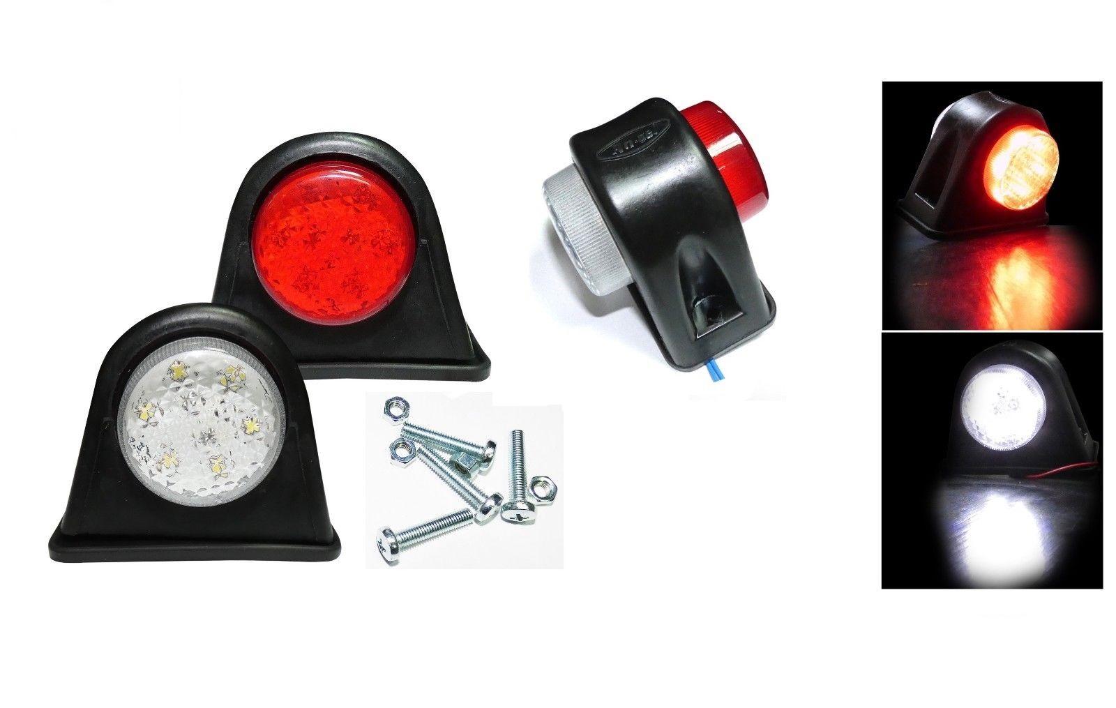 Σέτ LED Όγκου Ωμέγα Κερατάκια 12V IP66 Κόκκινό Λευκό