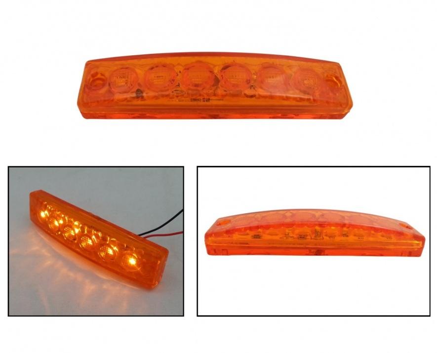 Σετ LED Φωτιστικό Σήμανσης 12V Πορτοκαλί