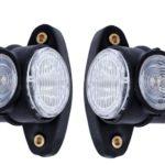 Τριπλά πλευρικά φώτα θέσης κόκκινα λευκά κίτρινα 12 24V SMD LED