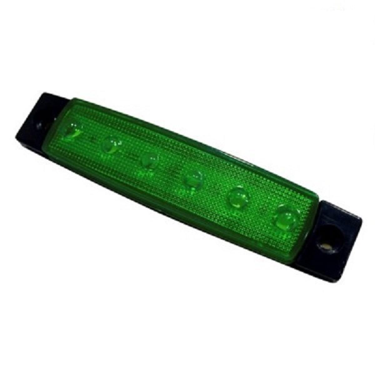 LED Όγκου 12V IP66 Πράσινο