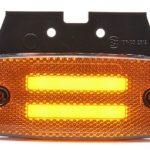 LED Φωτιστικό Πλευρικής Σήμανσης με Βάση και Е-Mark 12V 24V IP68