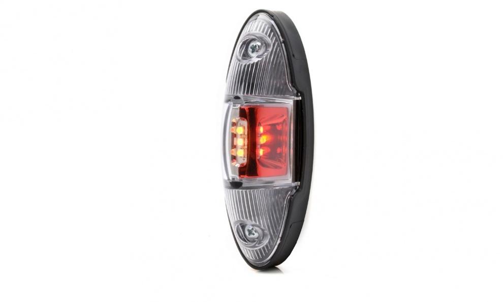 LED Φωτιστικό Πλευρικής Σήμανσης 12.1cm με Е-Mark 12V 24V IP68