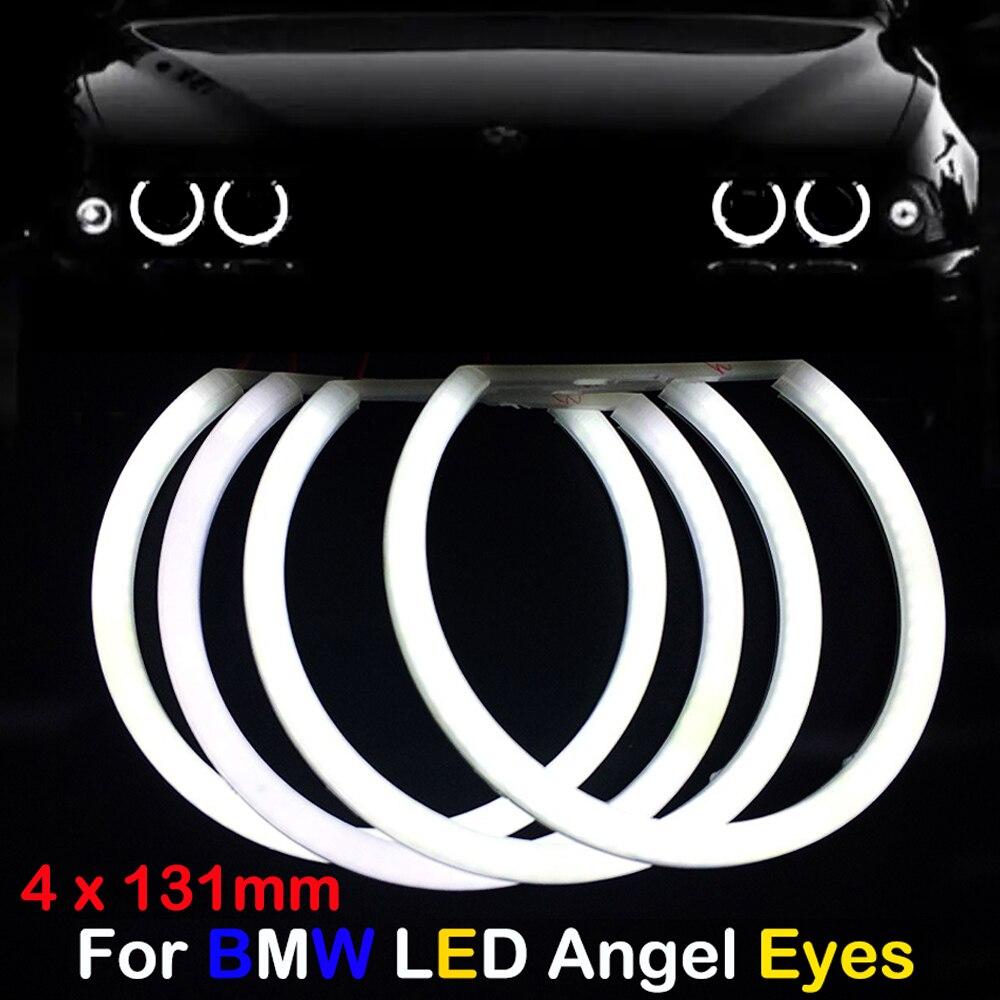 Δαχτυλίδια Angel Eyes για BMW E36 E38 E39 COTTON Λευκό χρώμα
