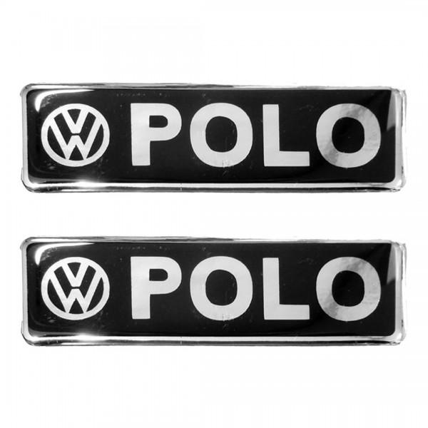 VW POLO ΣΗΜΑΤΑ ΒΙΔΩΤΑ 10 Χ 3 CM ΣΕ ΜΑΥΡΟ ΧΡΩΜΙΟ ΓΙΑ ΠΑΤΑΚΙΑ – 2 ΤΕΜ.