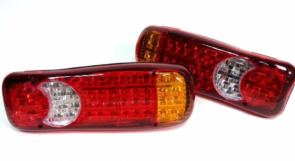 Σετ LED Φανάρι Φορτηγού Πίσω 12V Φρένων – Φλας – Όπισθεν – Πορείας – Ομίχλης