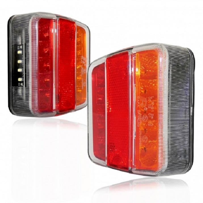 Σετ LED Φανάρι Φορτηγού Πίσω 12V 24V Φρένων – Φλας – Όπισθεν – Πορείας DF