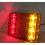 Σετ LED Φανάρι Φορτηγού Πίσω 12V 24V Φρένων – Φλας – Πορείας ZMC
