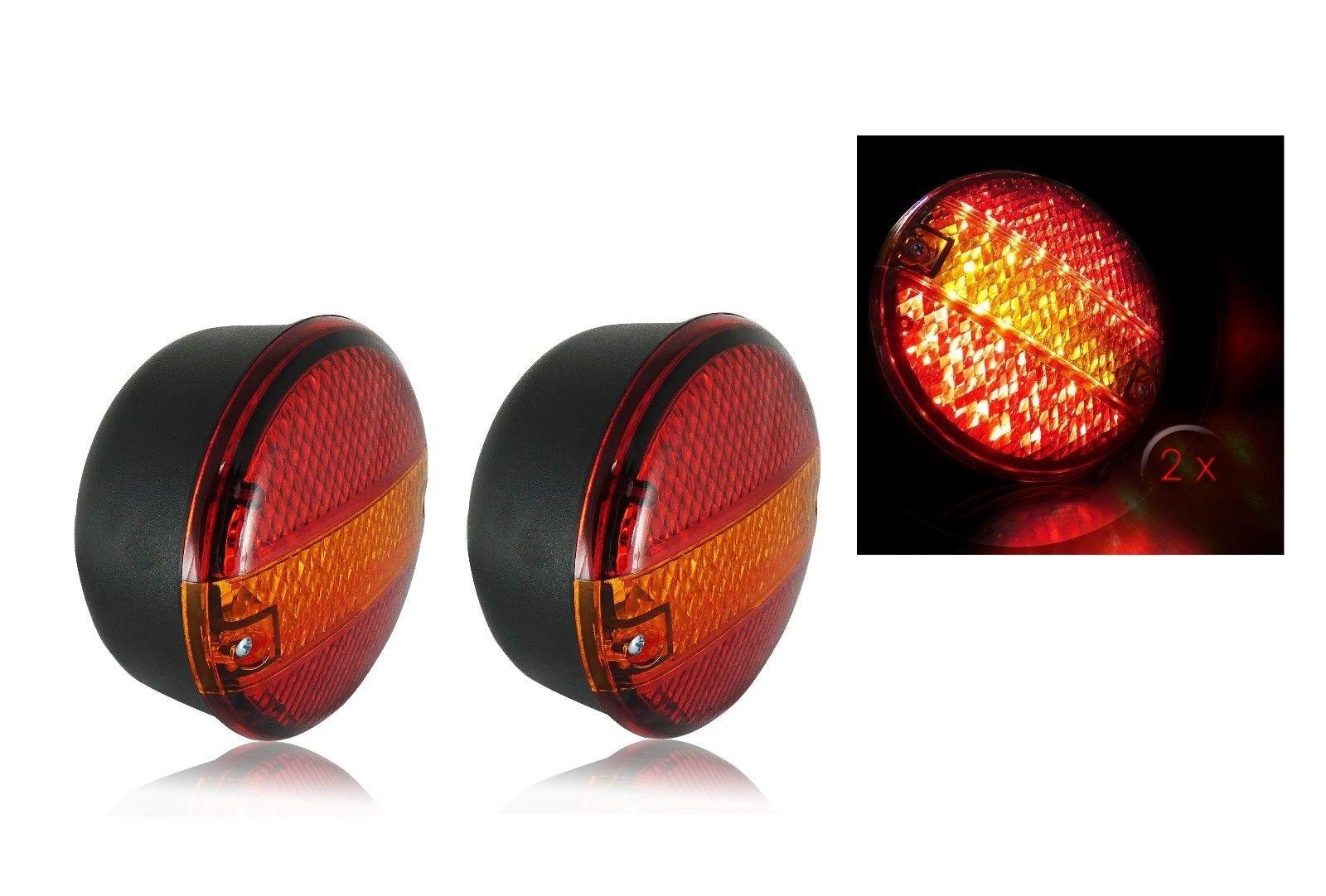 Σετ LED Φανόι Οπίσθιοι 24V Φρένων – Φλας
