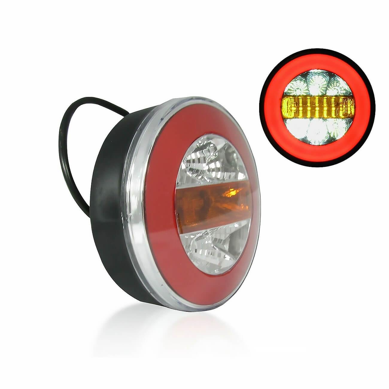 LED Neon Φανός Οπίσθιος 12V 24V Φρένων – Φλας – Όπισθεν – Πορείας