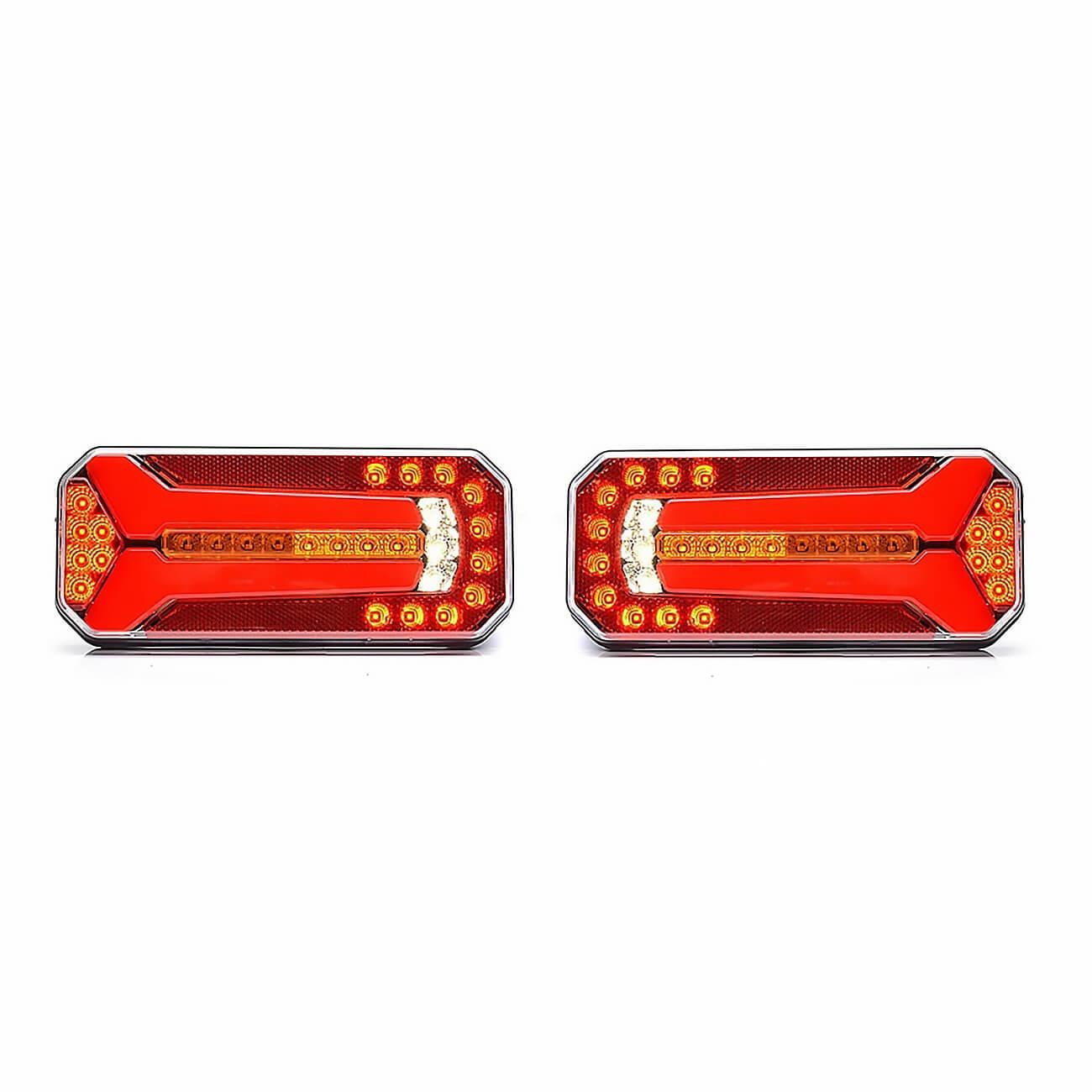 LED Neon Е-Мark Φανός Οπίσθιος 12V 24V Φρένων – Tρεχούμενο φλας – Όπισθεν – Πορείας