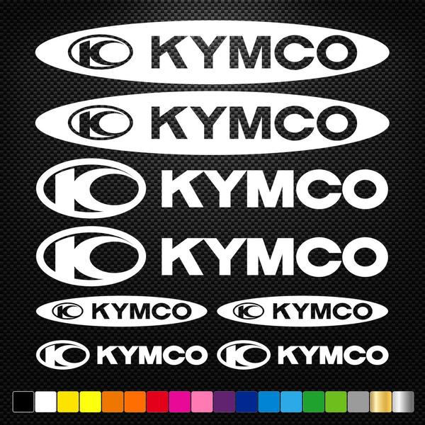 Σετ Αυτοκόλλητα Kymco Κωδ. 564 ΔΙΑΦΟΡΑ ΧΡΩΜΑΤΑ