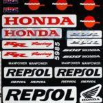 Σετ Αυτοκόλλητα Honda CBR ΚΩΔ.532