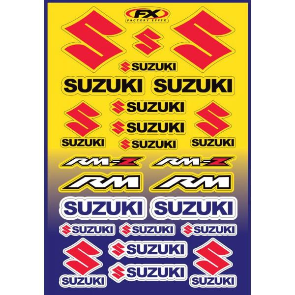 Σετ Αυτοκόλλητα SUZUKI RM ΚΩΔ.535