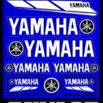 Σετ Αυτοκόλλητα Yamaha ΚΩΔ.533